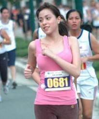 Christine Reyes Photo Running