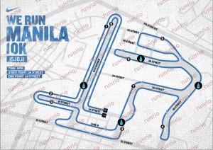 NIKE PH RACE MAP