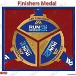 Unilab Run United 2012 Medals