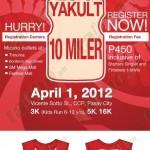 Yakult 10 Miler Run