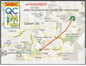 QCIM 2012 21km Route - 2