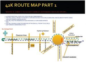 QCIM 2012 42k route part1