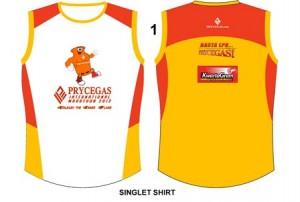 CDO Marathon 2012 Singlet