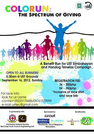 Color Run 2012 UST