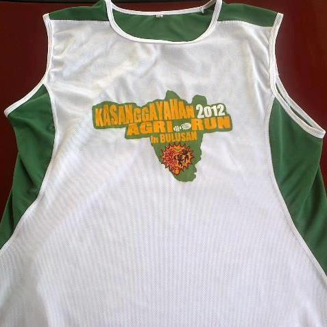 Kasanggayahan Agri Run 2012 Singlet