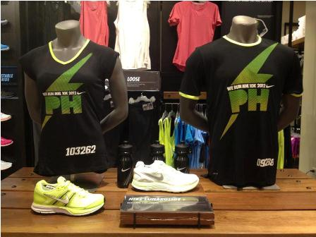 Nike We Run Manila 2012 Shirts