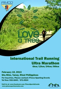 PIMCO Love a Tree Ultramarathon 2013