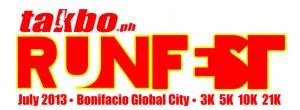 Takbo Runfest 2013 FB Teaser 1