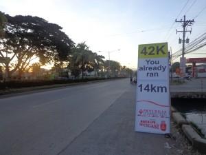 12 - PryceGas Marathon KM Markers