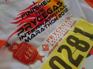 29 - PryceGas Marathon Shirt and Medal