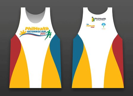 Phil Health Run Singlet