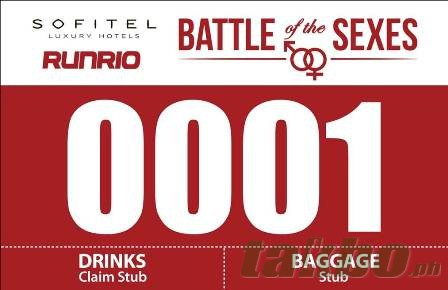 Runrio Battle of the Sexes Race Bib