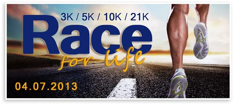 bdo race for life 2013 will be held on april 7 2013 sunday at the mall
