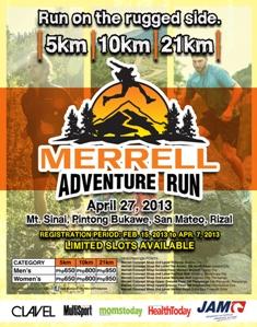 Merrell Adventure Run 2013