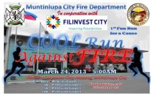 Cool Run Against Fire 2013