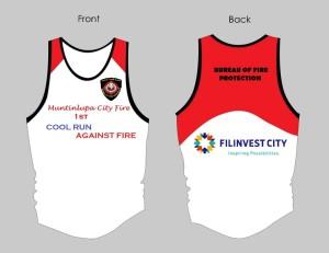 Cool Run Against Fire 2013 Singlet