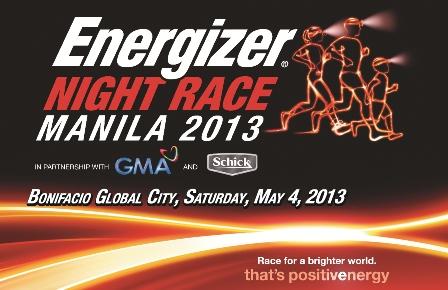 Energizer Night Race Manila 2013 5K/10K (BGC)
