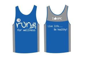 Run for Wellness 2013 Singlet