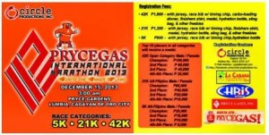Cagayan De Oro PyceGas Marathon 2013
