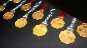 Nike We Run Jozi 2013 Medal