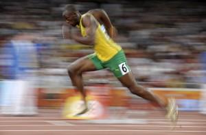 Usain Bolt Sprint Form