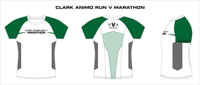 Clark Animo Run 2014 Finisher Shirt
