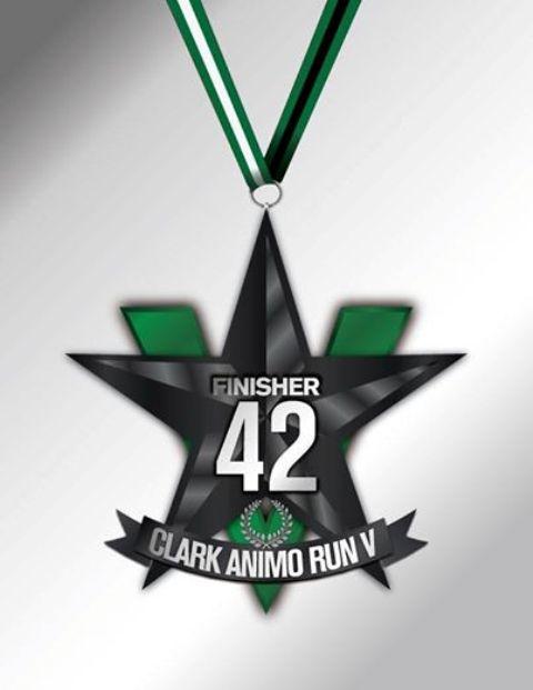 Clark Animo Run 2014 Medal