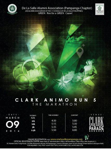 Clark Animo Run 2014 Poster