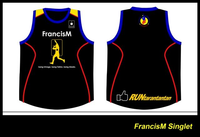 Francis Magalona Run 2014 Singlet