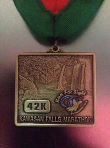Kawasan Falls Marathon 2014 Medal