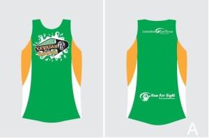 Kawasan Falls Marathon 2014 Singlet