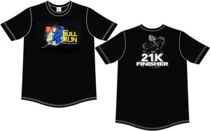PSE Bull Run 2014 Finisher Shirt
