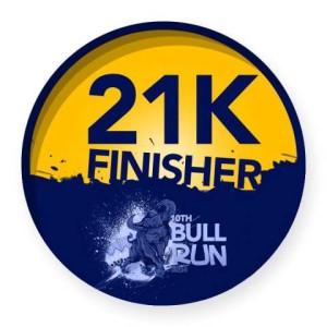 PSE Bull Run 2014 Medal