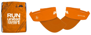 Run United 1 2014 Bag amd Visor