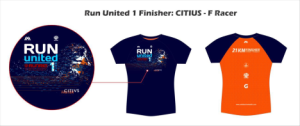 Run United 1 2014 Finisher Shirt