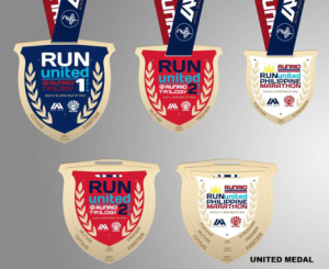 Run United 2014 Medals