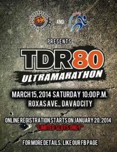 TDR80 Ultramarathon 2014