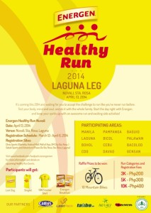 Energen Healthy Run 2014 Laguna