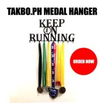 Takbo.ph Medal Hanger – Keep On Running