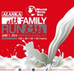 Alaska World Milk Day Family Run 2014 Results