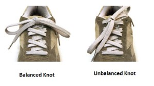 Balanced Knot Shoelace