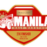 SOFITEL MANILA HALF MARATHON 2014 Medal