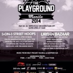 The Playground Metrowalk 2014 - Poster