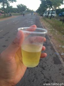 Angkor Wat Marathon 2014 - Hydration