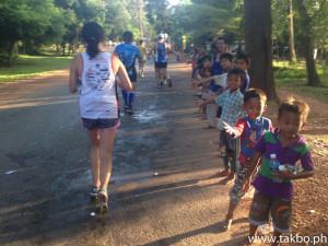 Angkor Wat Marathon 2014 - Cheers