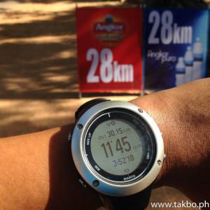 Angkor Wat Marathon 2014 - GPS