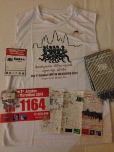 Angkor Wat Marathon 2014 - Race Kit