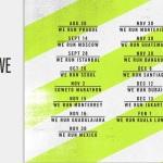 Nike We Run 2014 Schedule