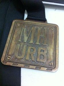 Mens Health Urbanathlon 2014 Medal