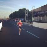 Quennie at Finish Line